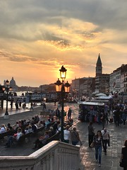 San Marco sunset (YuriZhuck) Tags: sky italy attraction sight architecture light embankment sunset europe venice