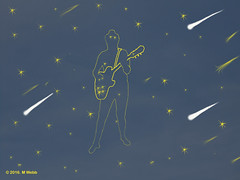 Starman (webbmartin1951) Tags: starman stars sky meteor guitar bowie