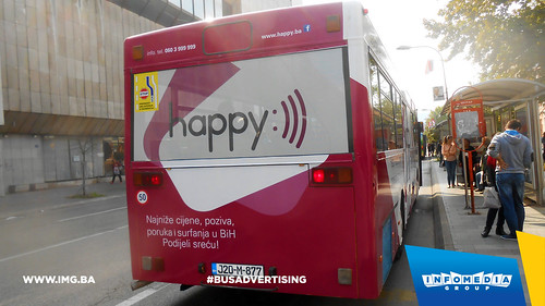 Info Media Group - BH Telecom Happy, BUS Outdoor Advertising, 09-2016 (6)