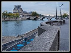 Pavillon de Flore & Pont Royal (thierrymasson94) Tags: pont seine quai pontroyal pavillondeflore paris france pontroyaletpavillondeflore paysageurbain fleuve