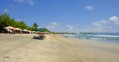 Sunny skies at the beach (A. Wee) Tags: kuta bali  beach  indonesia