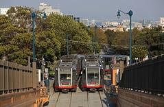 City view (Maurits van den Toorn) Tags: tram tramway tranvia strassenbahn stadtbahn villamos elctrico lightrail sanfrancisco muni afternoon sunset tunnel usa vs