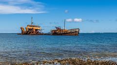 Epave - Marigot - [Saint-Martin] (Thierry CHARDES) Tags: sigma1750mmf28 marigot chou bateau pave cargo frenchwestindies antilles carabes caribbean france