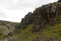lownathwaite hushes (kokoschka's doll) Tags: hush workings scree crag gunnerside pennines