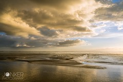 Sunset at the Waddensea (melvinjonker) Tags: travel ameland holwerd landscape sonya7ii sony composition holland colours sky clouds nature water sea waddenzee wad