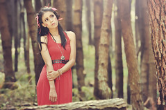 Stand Up (Dudy | 2112 photography) Tags: mood model makeup mode tamron people portrait potrait photography photo concept closeup fashion face forest fairy nikon nature vintage beauty beautiful asia asian cute colours cinematic scenic woman wardrobe female