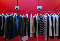 Sale (Mondmann) Tags: sale clothes clothing clothesrack itaewon seoul korea southkorea rok republicofkorea redwall 8000won asia eastasia shop clothingshop retail mondmann canonpowershotg7x