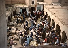 Portugal/Morocco (8) (The Spirit of the World) Tags: morocco fez arab medina feselbali northafrica africa market marketplace analogphotography film print unescoworldheritagesite historical oldestmedinaintheworld 1986