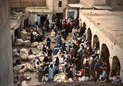 Portugal/Morocco (8) (The Spirit of the World) Tags: morocco fez arab medina feselbali northafrica africa market marketplace analogphotography film print unescoworldheritagesite historical oldestmedinaintheworld 1986