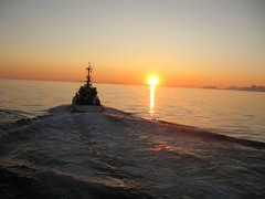 R/S Skuld in midnight sun (O.Sjomann) Tags: bodoe bod redningsskyte rescuevessel midnightsun midnattsol landegodefjorden norway northernnorway nordnorge