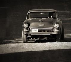 (Jonas.W.) Tags: hotrodrumble chevrolet chevy 1955 gasser sidewaysinthedirt gravel car vehicle filipstad sweden samsung nx300