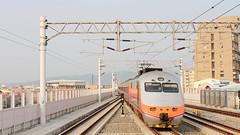 IMG_0526  (vicjuan) Tags: 20161016 taiwan   taichung fongyuan  railway geotagged geo:lat=24255525 geo:lon=1207242  fongyuanstation  train