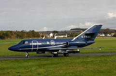 G-FRAU Falcon 20 Cobham (Ayrshire Aviation Images) Tags: dassault cobham falcon20 bizjet prestwickairport jet aircraft aviation airplane