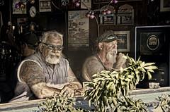 Ocean Beach Bar Scene (Artypixall) Tags: california sandiego oceanbeach mendrinking portrait bar urbanscene desaturated