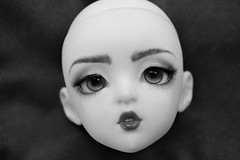FaceUp (RavicaCrafts) Tags: aprilstory bjd instadoll april head faceup by ravica