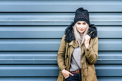 winter mood (photon tamer) Tags: wintermood winter cold fashion model girl female woman portrait outdoorportrait onlocation beautiful sexy happy frost people