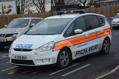 Leicestershire Police Ford S-Max Dog Unit FJ09 BGV (NottsEmergency) Tags: police policing policeofficer policeservice policevehicle policestation policecar incident investigation vehicle van team tsg riot callout code3 shout uk britain british england enforcement support law order disorder driving drugs siren 999 lights bluelights help chaos squad surveillance officer operation cop emergency emergencyservices eastmidlands immediate patrol urgent cell lockup response rescue responder responsecar service midlands safety central centralpolicestation city constabulary constable community car county countymounty sirens responding a610 publicorder leicestershirepolice leicestershire dogunit dog unit ford fordsmax fj09bgv