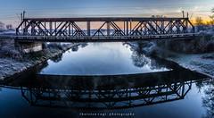 Brcken (fotos_by_toddi) Tags: fotosbytoddi voerde niederrhein nrw nordrhein westfalen sky morgens morgennebel nebel bridge brcke blaue blau sony sonya7 sonyalpha7 alpha a7 alpha7 himmel wolken wasser water lippemndung lippe