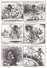 Robert Crumb / Endzeit Comics / page 103 (micky the pixel) Tags: comics comic comix undergroundcomics buch book livre zweitausendeinsverlag robertcrumb endzeitcomics purplehaze hippie trip lsd