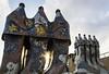 Casa Milà fireplaces (LorenzoRufusTestai) Tags: sony a6000 oldlens barcelona barcellona nikkor nikkorlens travel casamilà nikon 35mm f14