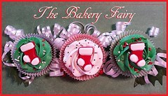 Christmas Collection (TheBakeryFairy) Tags: candy stocking thebakeryfairy buttercream cupcake candystocking sprinkles