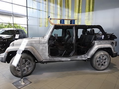 """2016 Jeep Wrangler Unlimited """"75th Anniversary"""" (harry_nl) Tags: netherlands nederland 2016 veenendaal jeep wrangler unlimited 75thanniversary showroom kien"""