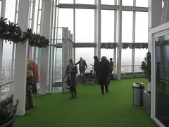 Open deck of Shard (streetr's_flickr) Tags: theshardoflondon highrise panorama tallbuildings structures architecture london city