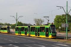 MPK Poznan, 150 + 151 (Chris GBNL) Tags: mpkpozna tram 150 151 konstal105na moderusalfa pozna