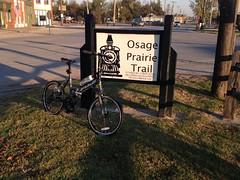 Osage_032 (gouldie) Tags: osageprairietrail tulsa sperry skiatook oklahoma bicycle foldingbike fuji fujiorigami