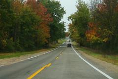 M66sRoad-AutumnFoliage (formulanone) Tags: michigan road foliage autumn fall leaves m66