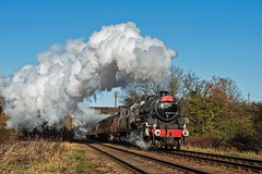 LMS Class 5 45305 Woodthorpe (FlyingScotsman4472) Tags: lms stanier 45305 gcr great central railway woodthorpe santa special steam december