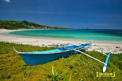 Maira-ira Blue Lagoon (lantaw.com) Tags: beach sea bluesea bangka boat ilocosnorte pagudpud mairaira bluelagoon whitesand outdoors
