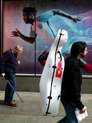 Play Fast (stevedexteruk) Tags: nike nikeworld store window advertising billboard 2016 music case regent street oxfordcircus daniel sturridge running london uk england football