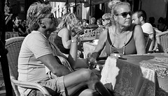 Last days of summer. (Baz 120) Tags: candid candidstreet candidportrait city candidface candidphotography contrast street streetphoto streetcandid streetphotography streetphotograph streetportrait streetfaces rome roma romepeople romecandid romestreets monochrome monotone mono blackandwhite bw noiretblanc urban voigtlandercolorskopar21mmf40 life leicam8 leica primelens portrait people unposed italy italia girl grittystreetphotography flashstreetphotography faces flash decisivemoment strangers