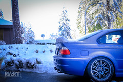 Frozen-Estoril-3841 (Trevor Mah) Tags: coquitlam britishcolumbia canada ca estoril blue e46 bmw m3 frozen snow csl style 67 18
