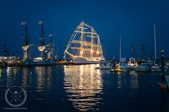 July 05, 2015-_JDS0340-web (Jon Schusteritsch) Tags: jon schusteritsch long island 2015 li ny jschusteritsch greenport greenportharbor dock boat ship tallship tallships evening lights reflection