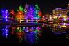 Ponte Avenue Bridge (MikeyBNguyen) Tags: addison vitruvianpark vitruvianlights vsco vscofilm nightphotography christmaslights christmastree christmastrees texas unitedstates us christmas longexposure