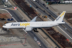 Aerologic Boeing 777-FSN D-AALC (Mark Harris photography) Tags: spotting aircraft plane aviation lax la 5d