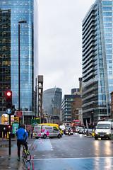 Aldgate Canyon (cybertect) Tags: 20fenchurchstreet aldgatetower canonfd55mmf12aspherical crawfordbuilding e1 london londone1 rafaelvioly sonya7 whitechapel whitechapelhighstreet building skyscraper