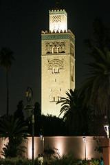 Koutoubia Mosque at night (StudioCB) Tags: koutoubia mosque marrakech islam prayer morocco
