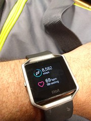 Fitbit (earthdog) Tags: 2017 fitbit wrist watch word text number fitnesstracker fitbitblaze lgenexus5x lge nexus 5x androidapp cameraphone moblog cellphone