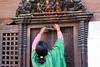 DS1A5855dxo (irishmick.com) Tags: nepal kathmandu 2015 lalitpur patan kumbheshwor temple bangalamukhi fire cermony