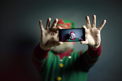 351/366 - taking an elfie (possessed2fisheye) Tags: possessed2fisheye scott scottmacbride creativeselfportrait creative creativephotography creativeportrait portrait portraitcreative christmasportrait christmas christmascheer christmasjumper elf takinganelfie takingaselfie selfie self christmaself 366 366project 366project2016 3662016 project366 2016
