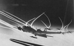 "#B-17s of the 390th Bombardment Group with ""little friends"" escort fighters during a mission to Emden, Germany. 27 September 1943. [3,602x2,233] #history #retro #vintage #dh #HistoryPorn http://ift.tt/2gAxNwE (Histolines) Tags: histolines history timeline retro vinatage b17s 390th bombardment group with littlefriends escort fighters during mission emden germany 27 september 1943 3 602x2 233 vintage dh historyporn httpifttt2gaxnwe"