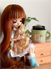 Wanna be yours ♥ (Pliash) Tags: madeleine dolls madeleinedolls cute kawaii pullip kit mio make it own full custom groove cacto lolita