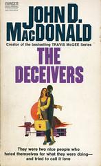 Novel-The-Deceivers-by-John-D-MacDonald (Count_Strad) Tags: johndmacdonald mystery novel softcover artworkart
