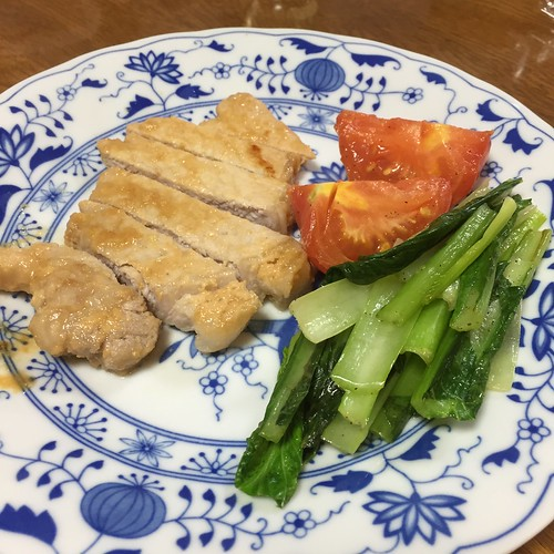 Healthy pork cutlet