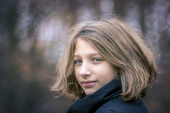 Portrait of my younger daughter (RobertFenyo) Tags: portrait girl daughter tamronsp70200f28divcusd