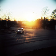 Car by Jennifer Petersson - Holga 120N