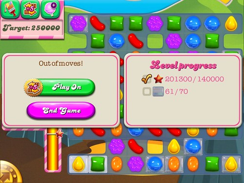 Candy Crush Saga Save Me!: screenshots, UI
